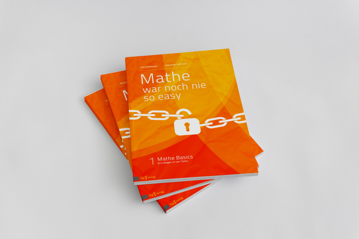 Covergestaltung Fernstudium Guide in orange